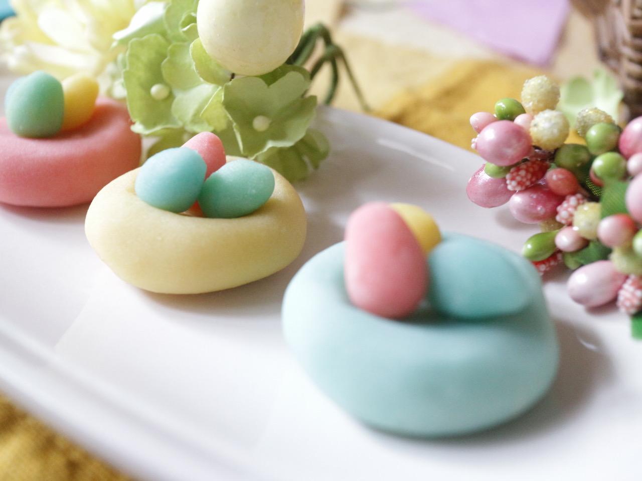 英語を五感で覚えよう!英語で和菓子づくり!