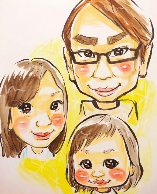 父の日記念<br>~似顔絵アート~