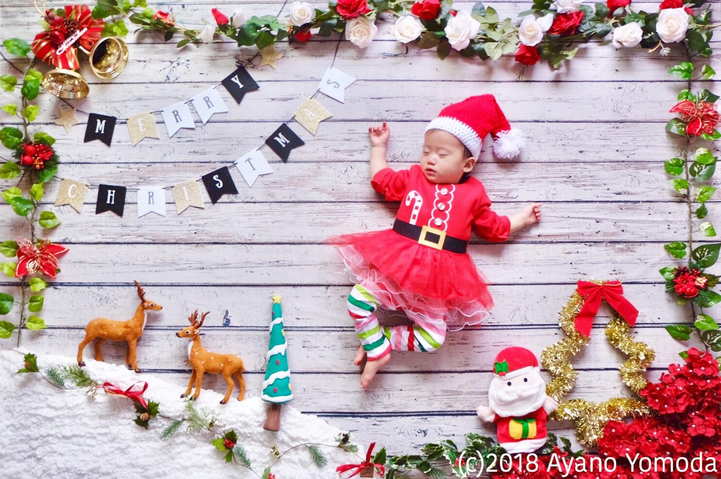 おひるねアート<br>「Christmas frame」