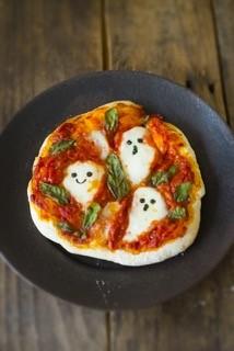 子ども英語料理教室<br>「Happy Halloween!! おばけピザを作ろう」