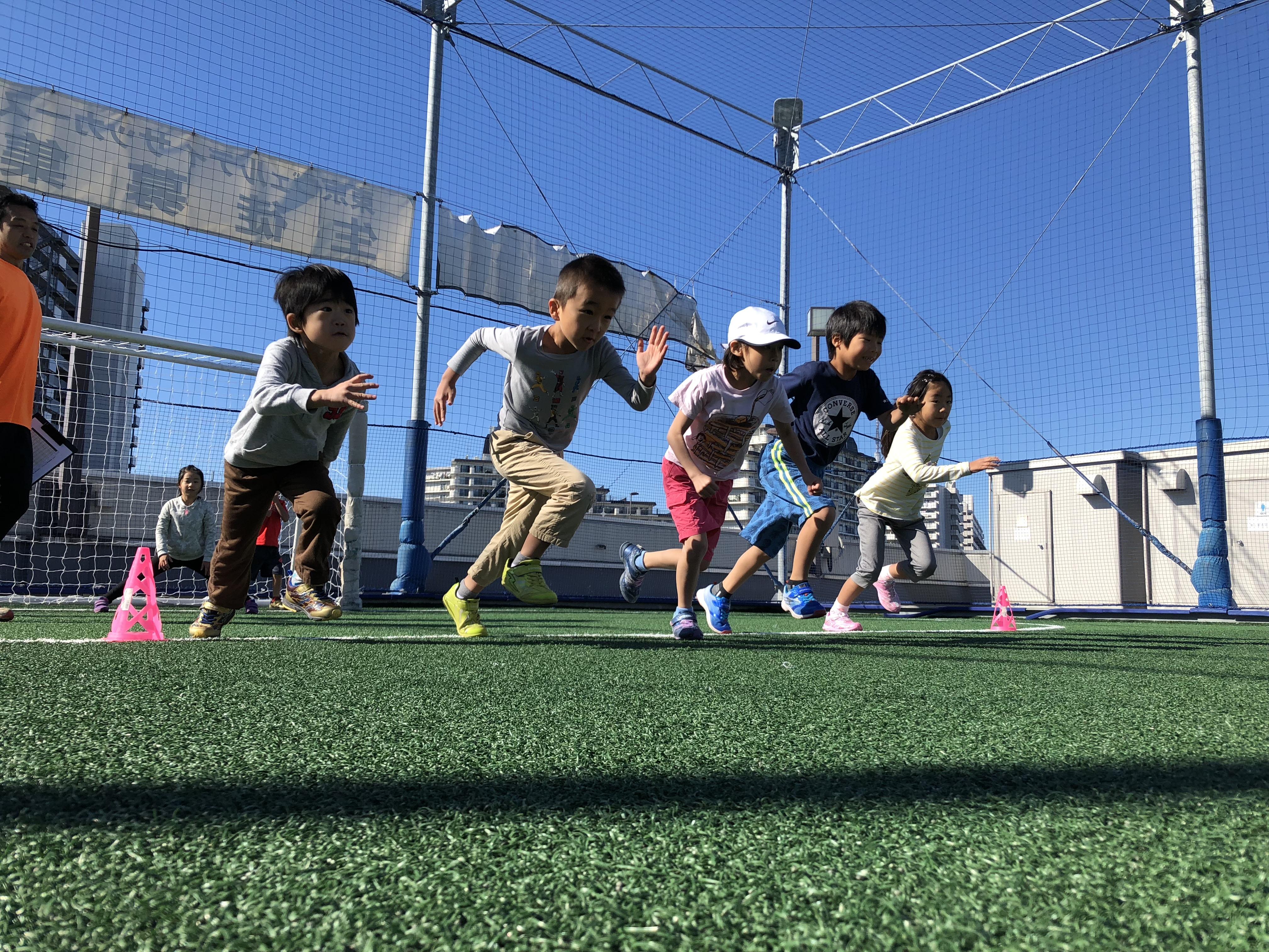 <川越月2開催!!><br>今よりもっと速く走れるようになる!<br>速く走るコツを学ぶことに特化したかけっこ教室